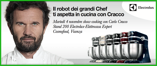 Tweedot blog magazine - Carlo Cracco a Cosmofood Vicenza