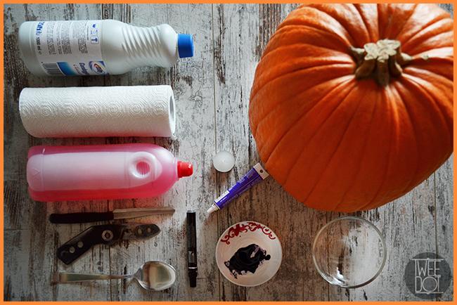 Tweedot blog magazine - cosa serve per preparare una zucca di Halloween