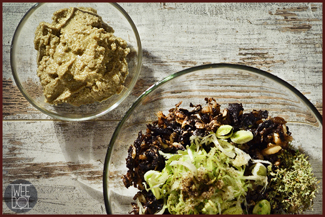 Tweedot blog magazine - ricetta vegana con funghi semi di zucca semi di girasole salsa di soia
