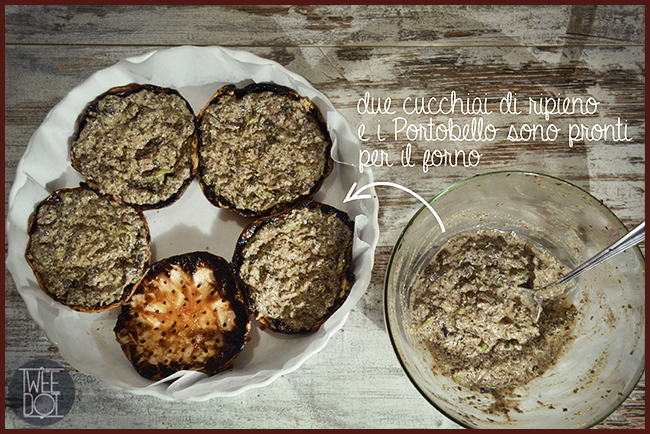 Tweedot blog magazine - ricette vegan scoperte in America - funghi Portobello ripieni