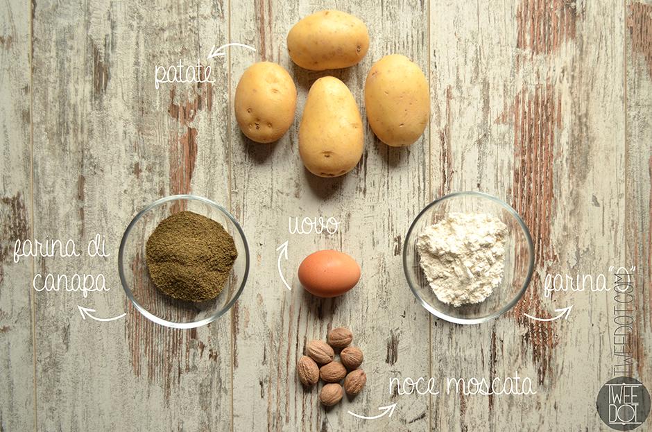 Tweedot blog magazine - ricetta per gnocchi alla canapa