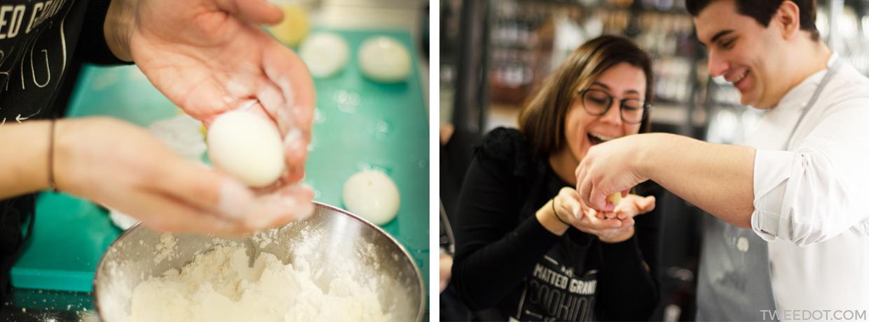 Tweedot - Laura Manente al Corso di Cucina Gourmet dello Chef Matteo Grandi di Hell's Kitchen