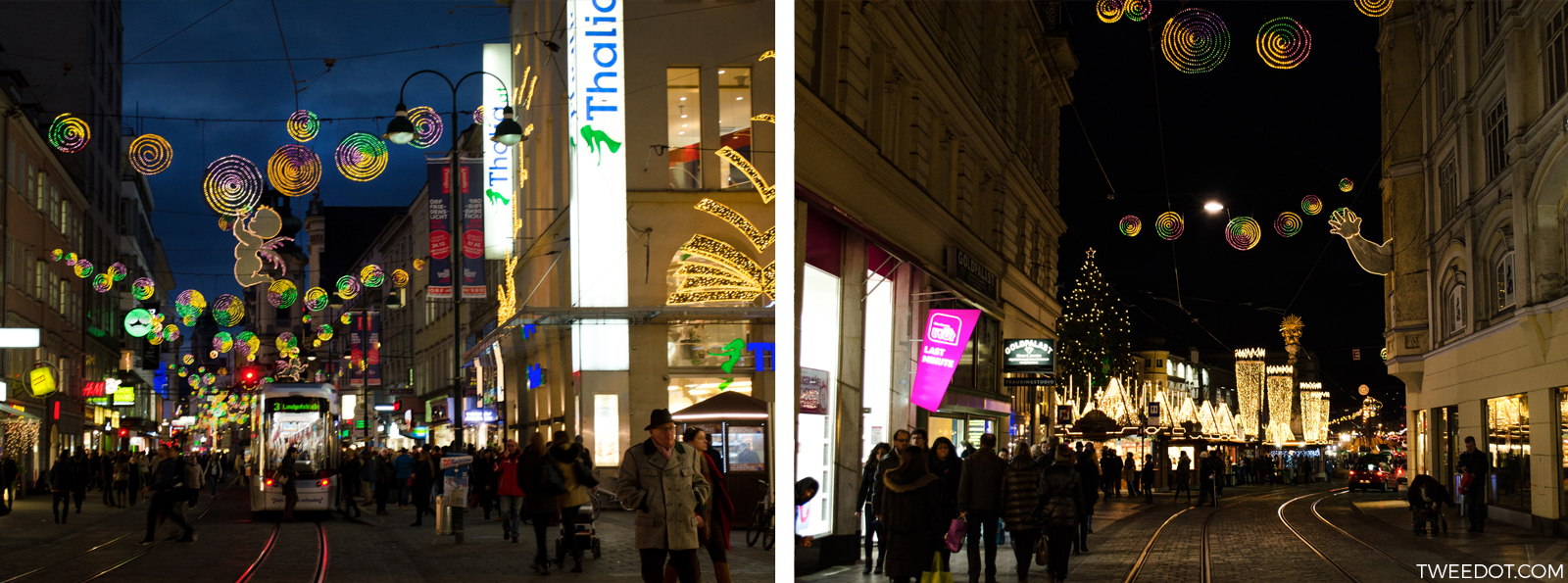 Tweedot - Natale in Austria - La Promenade nel Centro di Linz