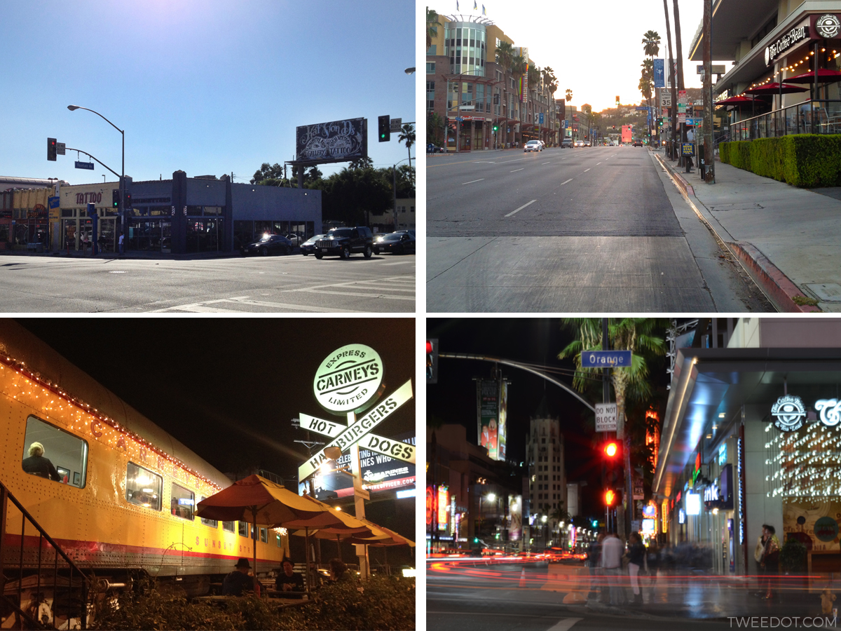Tweedot - travel blog Los Angeles California - Sunset e Melrose