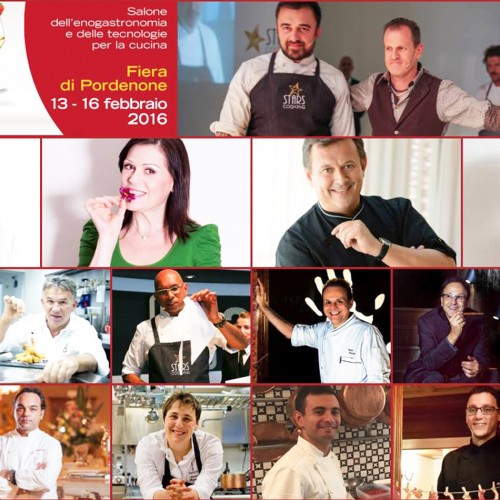 Tweedot - Fiera Cucinare Pordenone 2016 - Corsi di Cucina - Showcooking