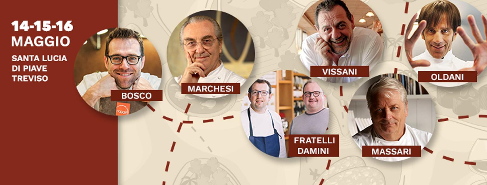 Gourmandia - Chef Stellati a Treviso