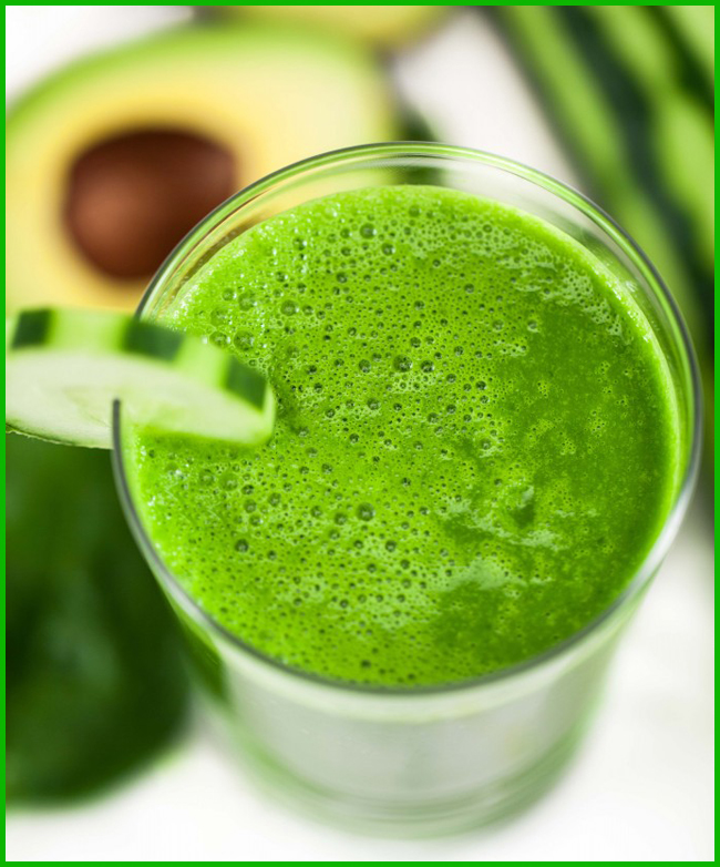 Tweedot blog magazine - green smoothie