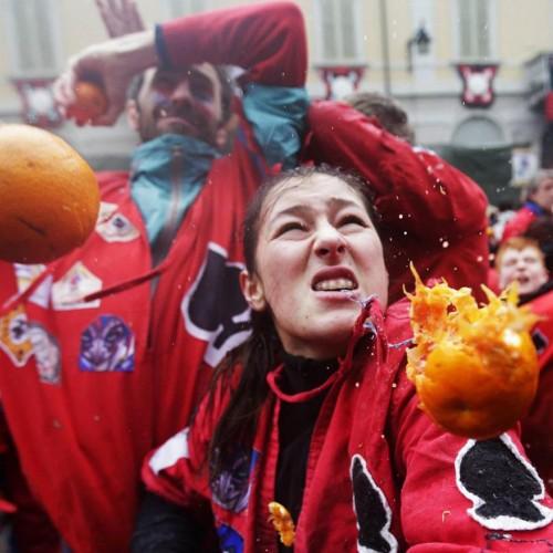 Tweedot blog - Carnevale di Ivrea