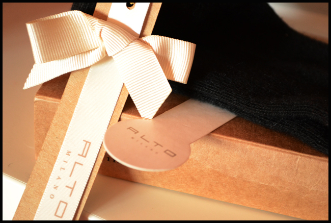 Tweedot blog magazine - Alto Milano Italia packaging for fashion