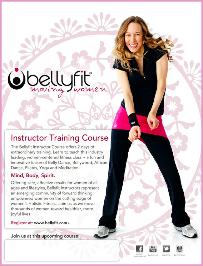 Tweedot blog magazine - Bellyfit training