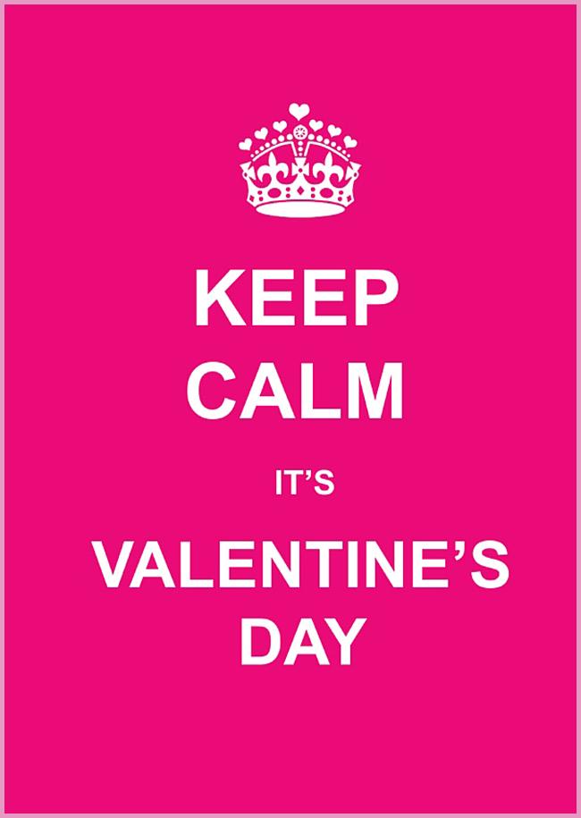 Tweedot blog magazine - Valentine's Day keep calm