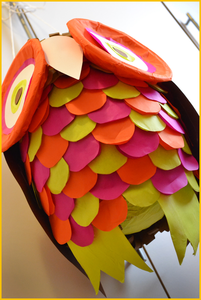 Tweedot blog magazine - civetta handmade birthday pinata children