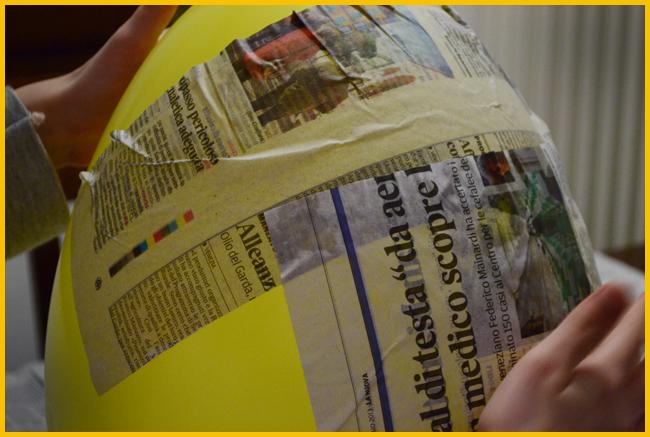 Tweedot blog magazine - pignatta fai da te palloncino