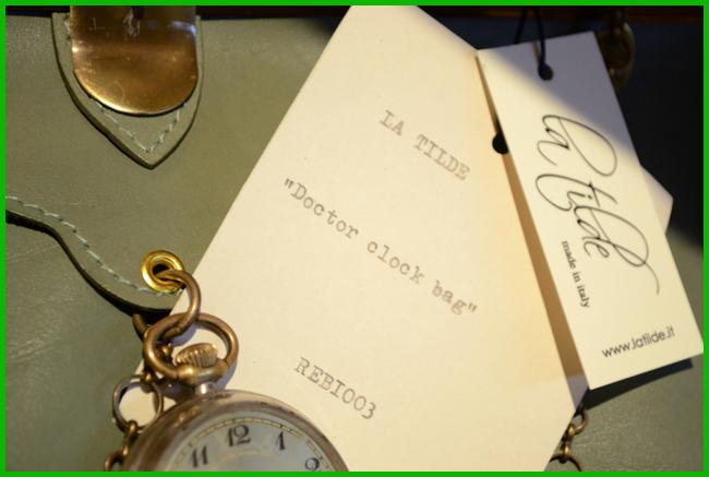 Tweedot blog magazine - Doctor Clock Bag La Tilde Italia Fall Winter 2014