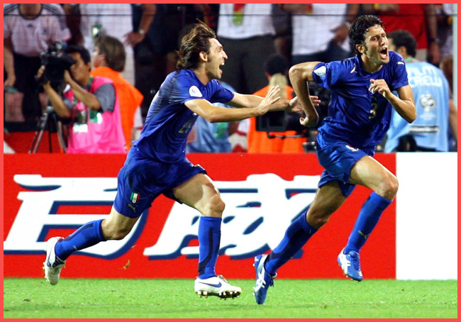 Tweedot blog magazine - Fabio Grosso Mondiali 2006 le foto che fanno la storia