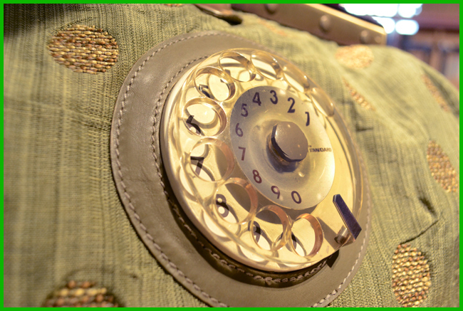 Tweedot blog magazine - La Tilde Doctor Phone Bag Spring Summer 2013