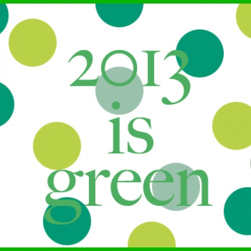 Tweedot blog magazine - color trend spring summer 2013 green