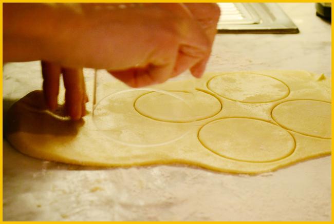 Tweedot blog magazine - lunette ripiene di nutella ricetta