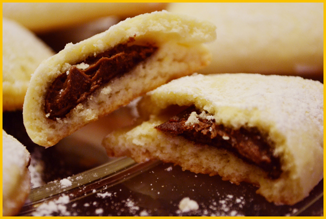 Tweedot blog magazine - mezzelune ripiene di nutella
