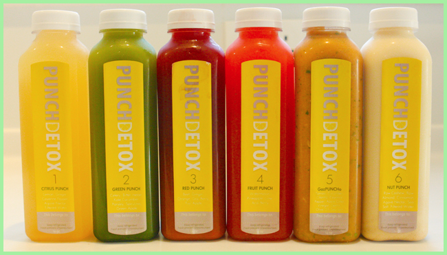 Tweedot blog magazine - punch detox fruit diet