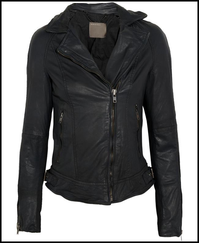 Tweedot blog magazine - Muuba giacca in pelle leather jacket