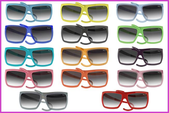 Tweedot blog magazine - ALeRO occhiali da sole colorati in gomma morbida