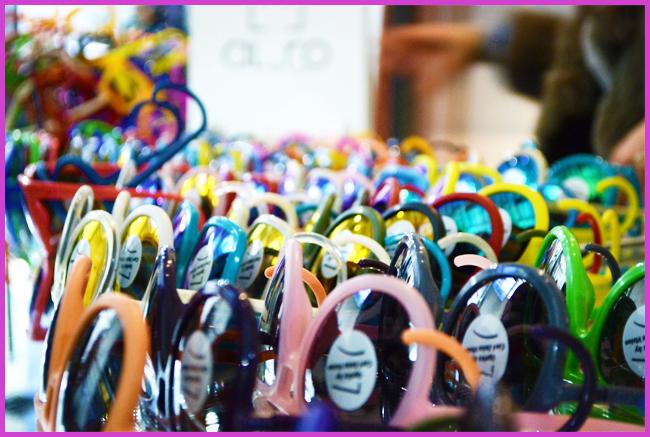 Tweedot blog magazine - ALeRO occhiali da sole in gomma