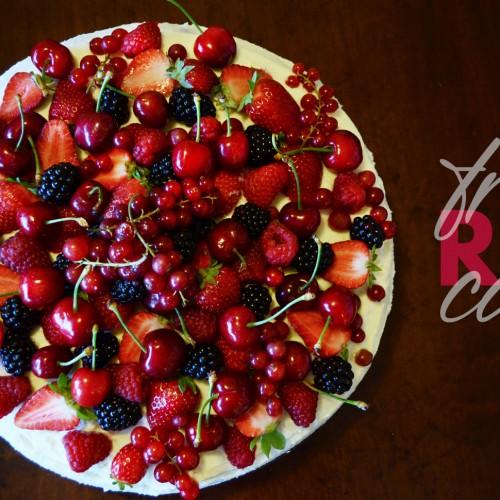 Tweedot blog magazine - Decorare una Torta ai Frutti Rossi