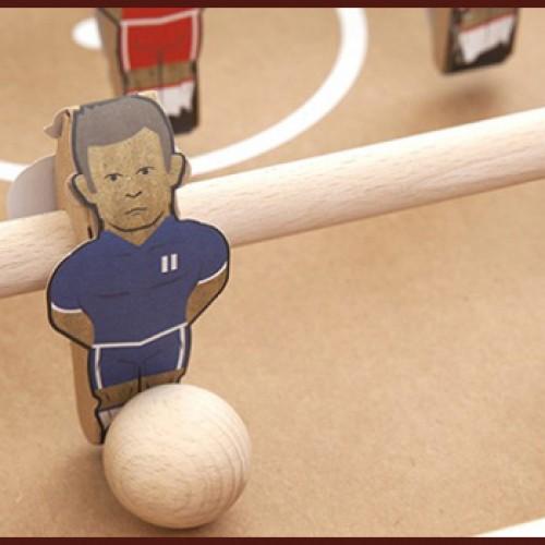 Tweedot blog magazine - Kartoni calcio balilla design ecologico