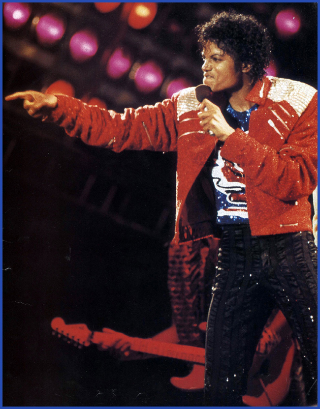 Tweedot blog magazine - Michael Jackson Beat It jacket Hard Rock Couture Venezia 2013