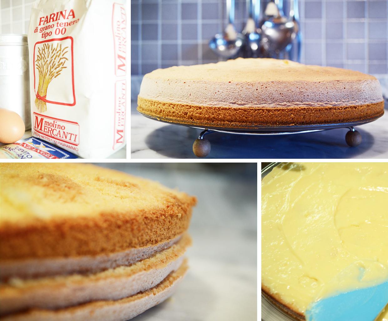 Tweedot blog magazine - Torte di Compleanno con Pan di Spagna e Crema