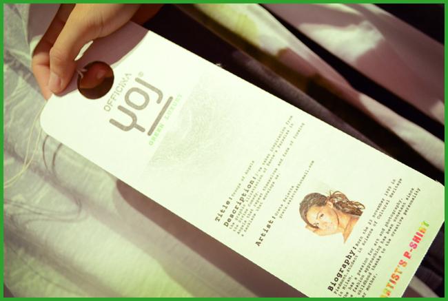 Tweedot blog magazine - B-Shirt JOY bio cotone made in Italy