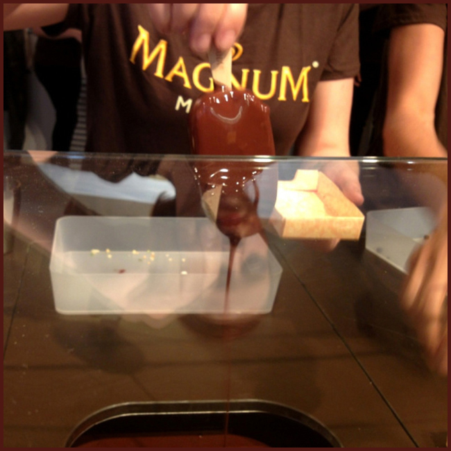 Tweedot blog magazine - Magnum Pleasure cioccolato fuso