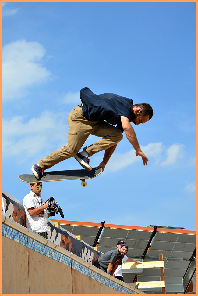 Tweedot blog magazine - The JamBO Bologna 2013 skateboard sfida