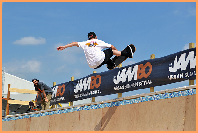 Tweedot blog magazine - The JamBO Bologna 2013 skateboard