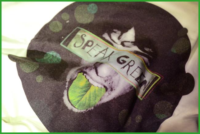 Tweedot blog magazine - YOJ b-shirt bio t-shirt made in italy speak green