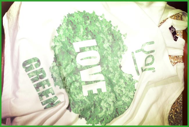 Tweedot blog magazine - YOJ loves green magliette in cotone bio Made in Italy Pitti Woman 2013