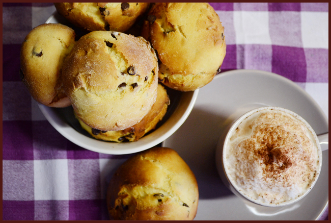 Tweedot blog magazine - recipe for cappuccino and brioche homemade in Italy