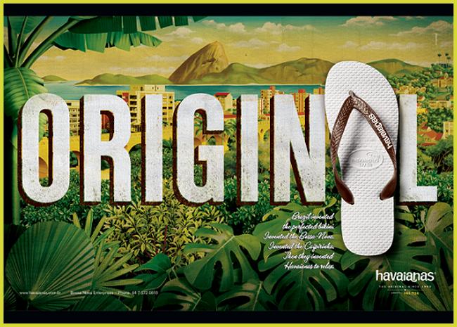 Tweedot blog magazine - Havaianas original Brasil