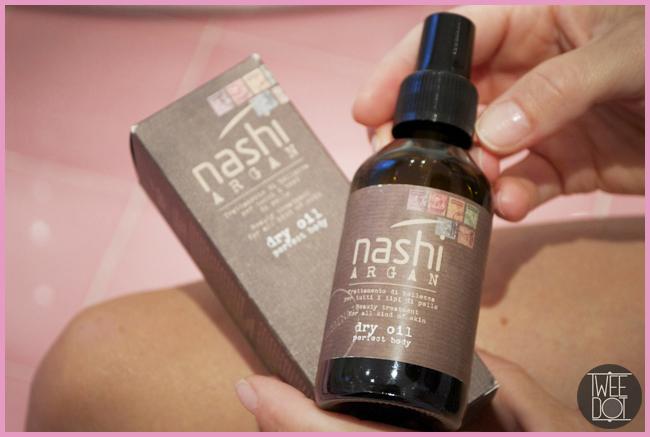 Tweedot blog magazine - Nashi Argan prodotti per capelli e per il corpo