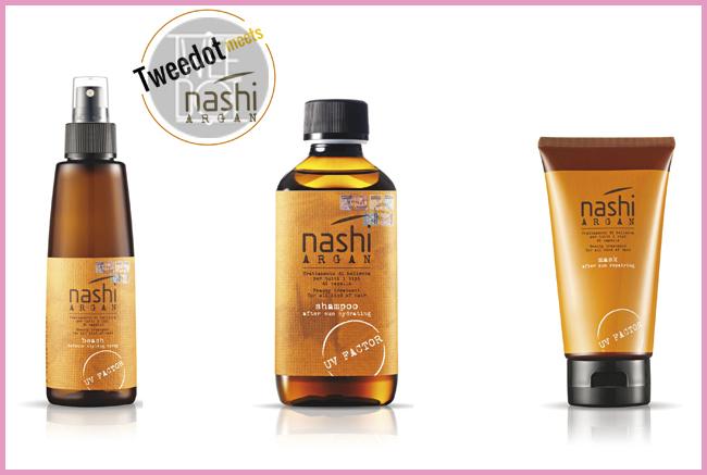 Tweedot blog magazine - Nashi Argan prodotti per i capelli