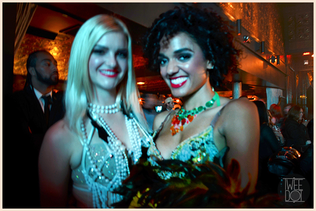 Tweedot blog magazine - Apartment 9 Los Angeles burlesque show at Greystone Manor hairstyle by Josh Banks Alfaparf Milano