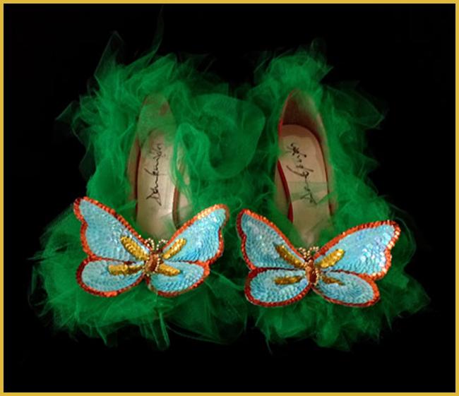 Tweedot blog magazine - Daniel Gonzalez butterfly heels