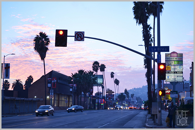 Tweedot blog magazine - Los Angeles Sunset Blvd al tramonto