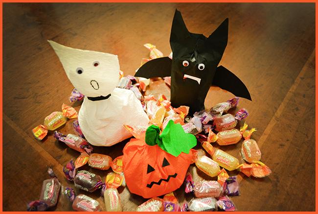 Tweedot blog magazine - come fare sacchetti per le caramelle di halloween
