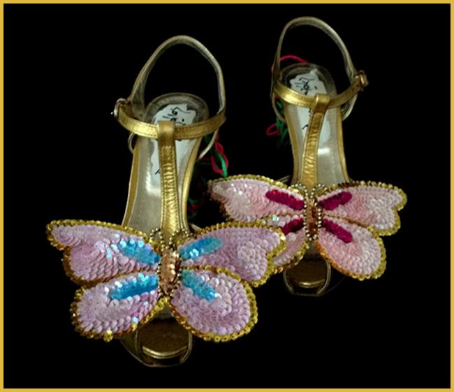 Tweedot blog magazine - sandali Daniel Gonzalez design Juliet and the Forbidden Shoes