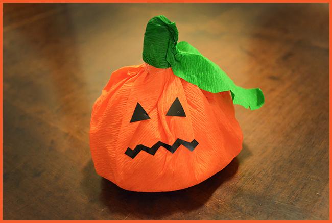 Tweedot blog magazine - zucca sacchetto per caramelle di halloween