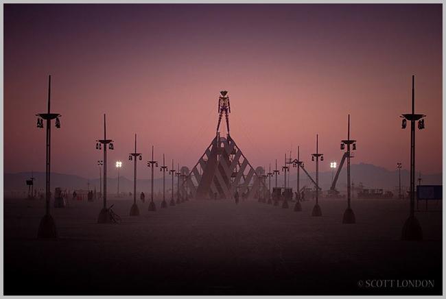 Tweedot blog magazine - Scott London fotografo Burning Man Festival Stati Uniti
