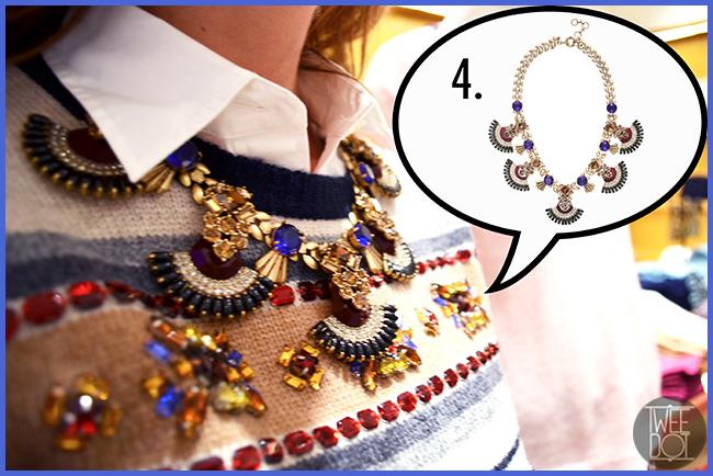 Tweedot blog magazine - bijoux e gioielli - collana JCrew scelta dalla fashion blogger americana Sydne Summer