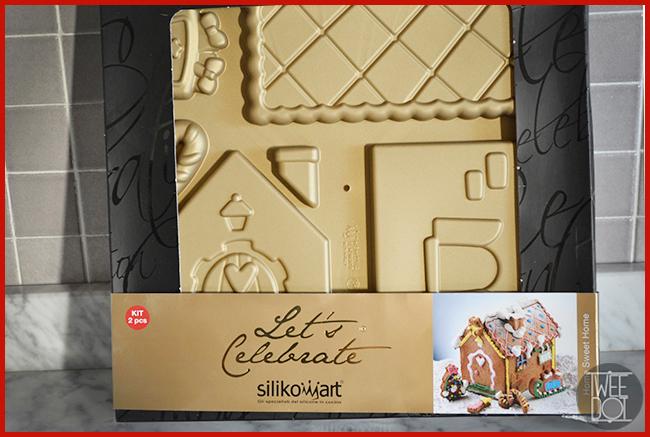 Tweedot blog magazine - Silikomart Home Sweet Home stampi in silicone per la casetta di Natale di pan di zenzero